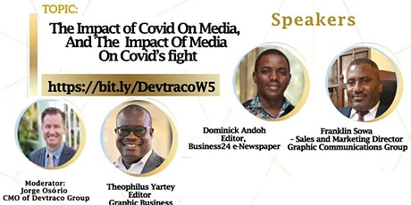 The Impact of COVID on Media, and the Impact of the Media on COVID's fight. tickets