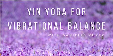 Yin Yoga for Vibrational Balance tickets
