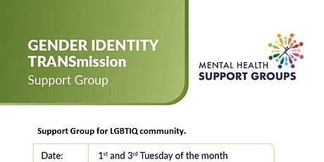 Gender Identity Support Group tickets