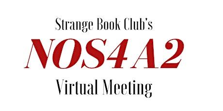 Strange Book Club's NOS4A2 Virtual Meeting tickets
