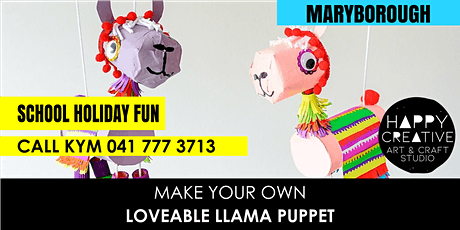 Loveable Llama Puppet tickets