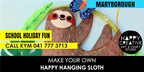 Happy Hanging Sloth tickets