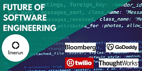Future of Software Engineering w/Bloomberg, GoDaddy, Twilio & ThoughtworksP tickets