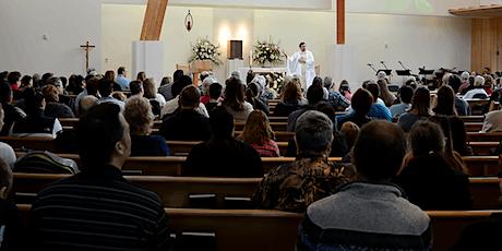 Weekend Mass (English) tickets