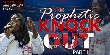 The Prophetic Knock Out tickets