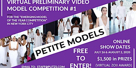 PETITE FEMALE MODEL - LIVE VIRTUAL MODEL AUDITION CASTING CALL tickets