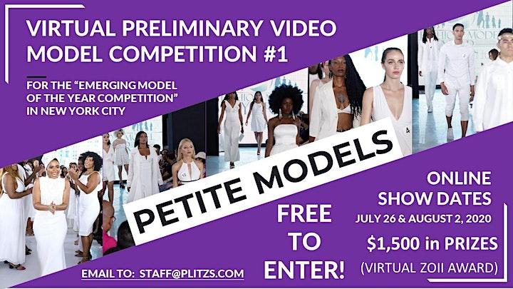 PETITE FEMALE MODEL - LIVE VIRTUAL MODEL AUDITION CASTING CALL