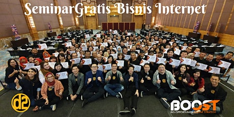 SEMINAR GRATIS STRATEGI BISNIS INTERNET tickets