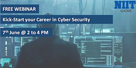 FREE WEBINAR by NIIT  Qatar | Kick-start Your Career In Cyber Security tickets