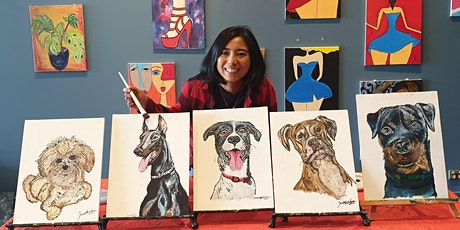 Paint Your Pet With Jess - Exclusive Studio Class tickets