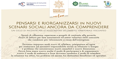 Comunità distanziate: sostegno reciproco e resilienza sociale biglietti