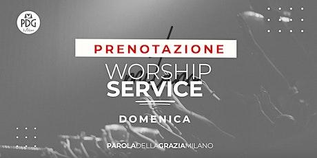 Live Worship Service Pdg Milano tickets