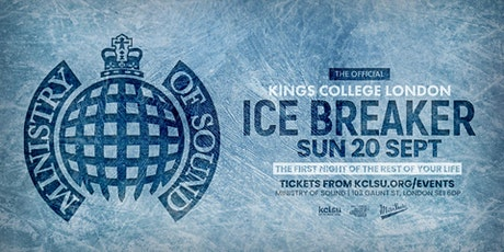 THE OFFICIAL KING'S COLLEGE LONDON ICEBREAKER 2020 tickets
