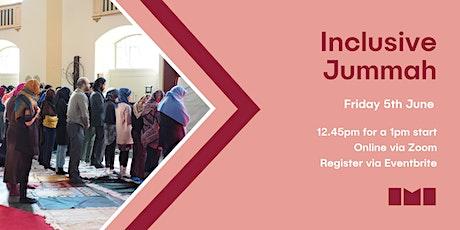Inclusive Mosque Jummah Prayer tickets