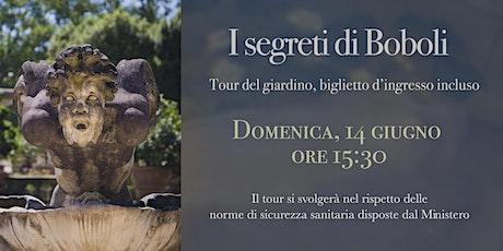 Tour del Giardino di Boboli. Biglietto incluso biglietti