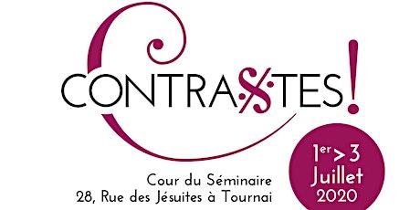 Pass 3 concerts Festival Contrastes 2020 billets