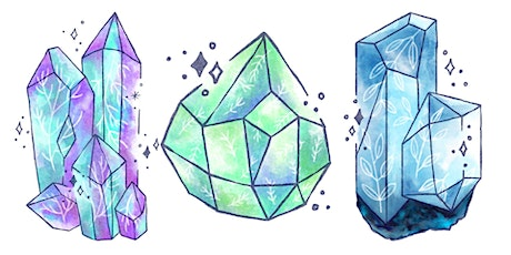 Meditation & Crystal Illustration Workshop tickets
