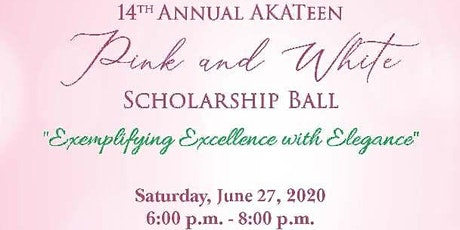 Virtual AKATeen Pink and White Scholarship Ball tickets