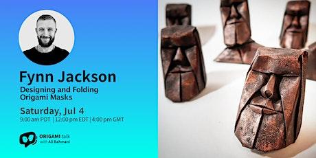 Origami Talk - Fynn Jacksonl: Designing and Folding Origami Masks tickets