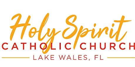 Misa en Español - Holy Spirit boletos