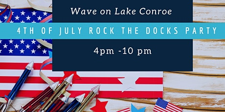 Mirage & Wave on Lake Conroe  4th of July Celebration tickets