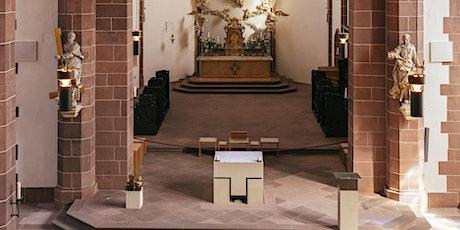 Zugangsgeregelte Eucharistiefeier Fronleichnam  Mi., Do., 10/11. Juni 2020 Tickets
