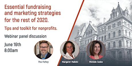Essential fundraising and marketing strategies for the rest of 2020 tickets