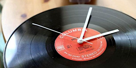 Vinyl Record Clock Workshop tickets