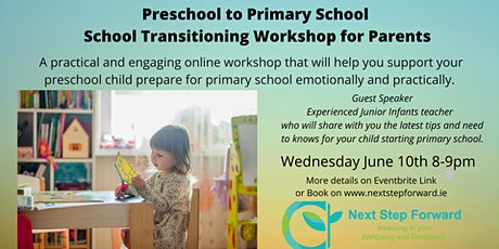 Preschool to Primary School Online School Transitioning Workshop tickets