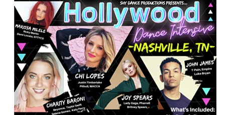 HOLLYWOOD DANCE INTENSIVE Nashville, YOUTH ages 10-14yrs tickets