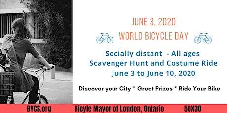 World Bike Month Scavenger Hunt tickets