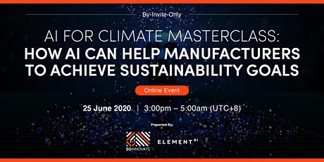 How AI Can Help Manufacturers to Achieve Sustainability Goals [Interested] tickets