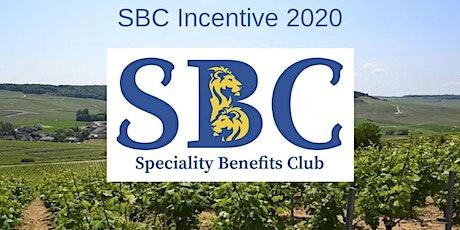 SBC Incentive 2020 billets