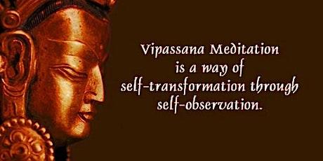 Vipassanā Meditation Class tickets