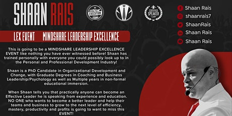 The LEX - LEADERSHIP EXCELLENCE EVENT billets