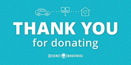 Harrisville Deseret Industries Donation Drop-Off tickets