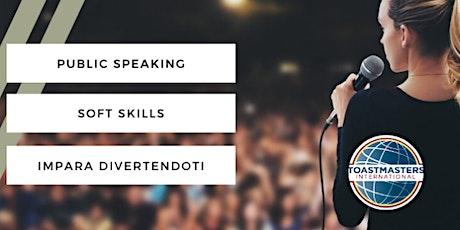 Vinci la paura di parlare in pubblico - Meeting Zoom biglietti