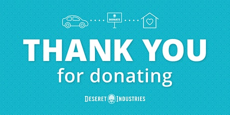Sugarhouse Deseret Industries Donation Drop-Off tickets