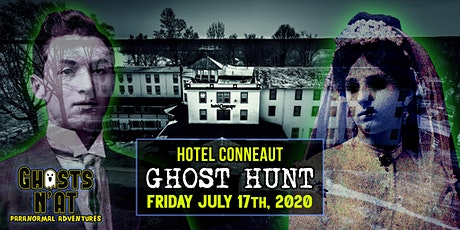 Hotel Conneaut Ghost Hunt & Overnight Stay | Friday July 17th 2020 tickets