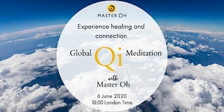 Global Qi Meditation with Master Oh ingressos