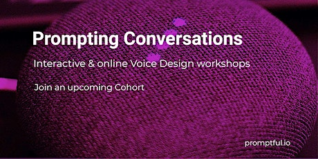 Prompting Accessibility - Voice UX & Accessibility workshop tickets