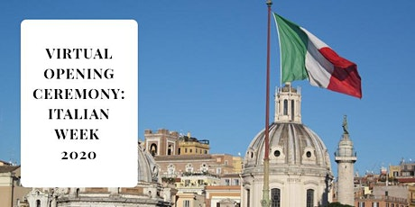 Ottawa Italian Week Virtual Opening Ceremony tickets