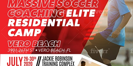MASSIVE SOCCER Residential Soccer Camp - July 26 - 30, 2020 tickets