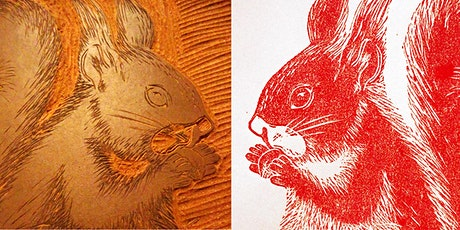 Linoldruck - art course - linoleum print - lino printmaking Tickets