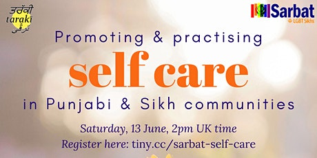 Self-care in Punjabi and Sikh communities tickets