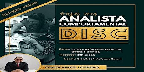 Formação de Analistas Comportamentais DISC. bilhetes