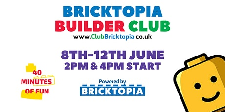 Builder Club sessions - 8th-12th June tickets