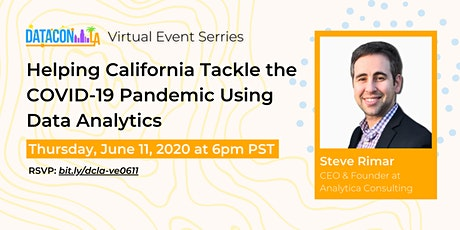 Helping California Tackle the COVID-19 Pandemic Using Data Analytics tickets