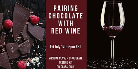Pairing Chocolate with Red Wine tickets