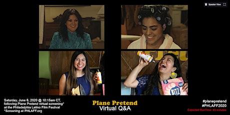 Plane Pretend Virtual Q&A Following #PHLAFF2020 tickets